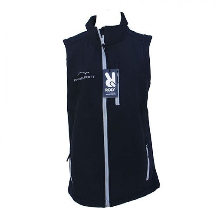 Vestuário de remo colete Padelpoint azul escuro - Barata Oferta Outlet