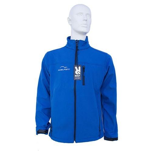 Paddle Softshell Abbigliamento uomo Padelpoint blu