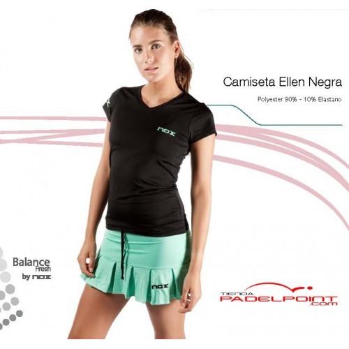 Paddle NOX ELLEN nero t-shirt-abbigliamento