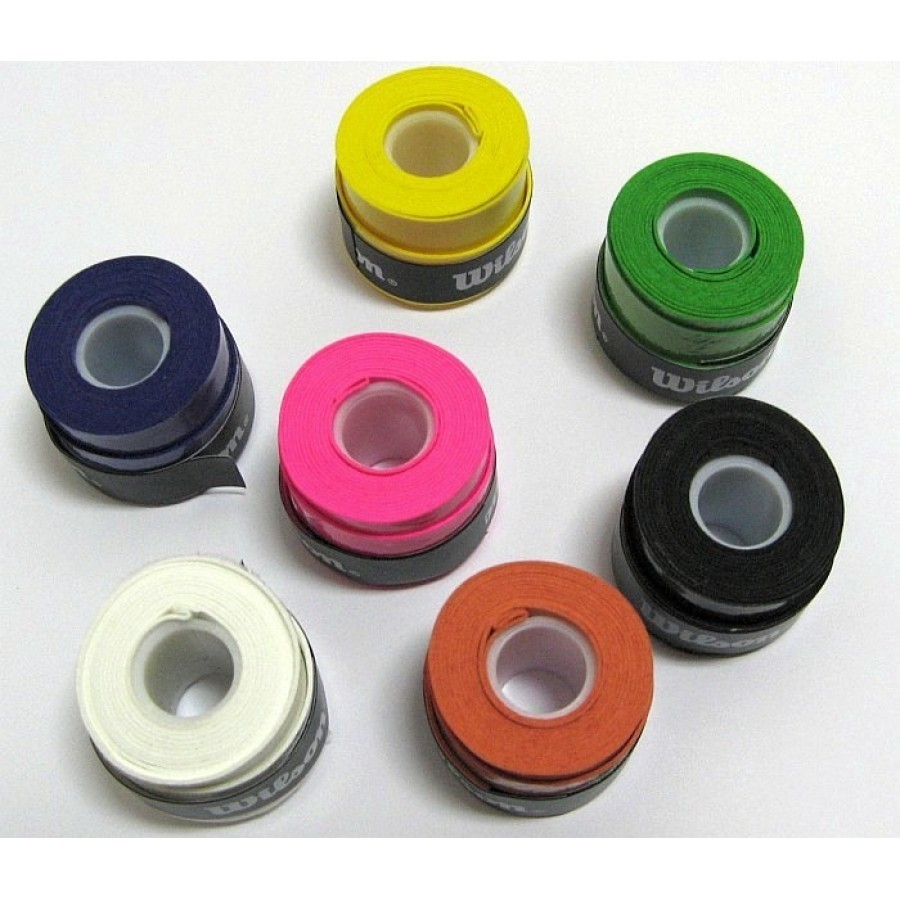 WILSON OVERGRIPS GRIPS COLORS 3 UNITS - Barata Oferta Outlet