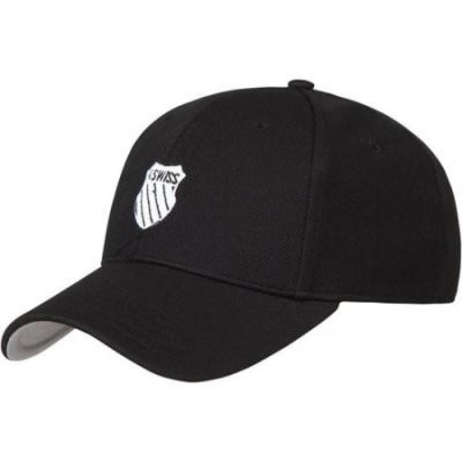 PADDLE KSWISS MATCHPOINT BLACK CAP - Barata Oferta Outlet