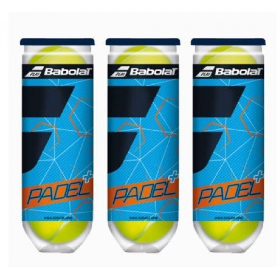 Paddle tennis BABOLAT 3 cans of balls - Barata Oferta Outlet