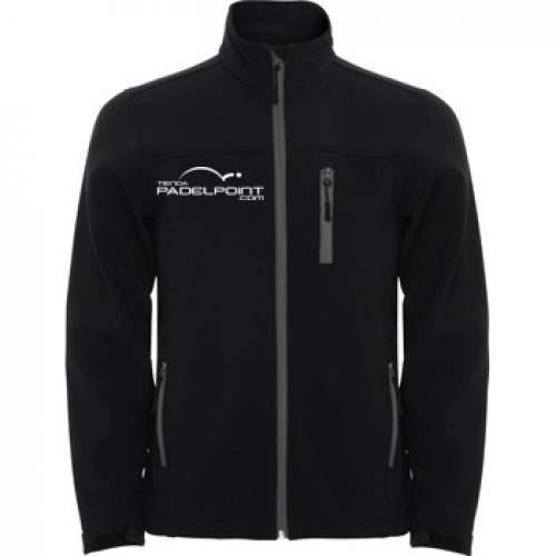 Paddle Softshell Abbigliamento uomo Padelpoint nero - Barata Oferta Outlet