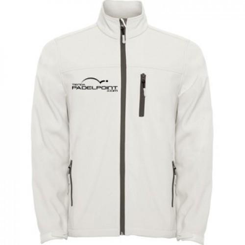 Paddle Softshell Abbigliamento uomo Padelpoint White Pearl - Barata Oferta Outlet