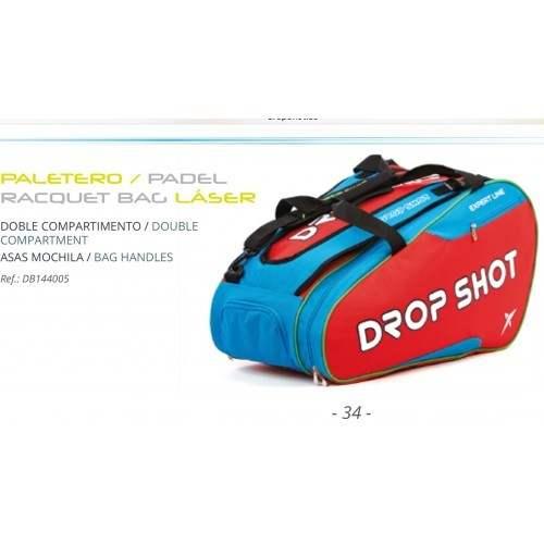 Paddle tennis DROP SHOT LASER rosso 2016 paletero