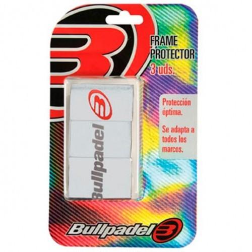 PROTECTORES PALAS BULLPADEL BLANCO - Barata Oferta Outlet