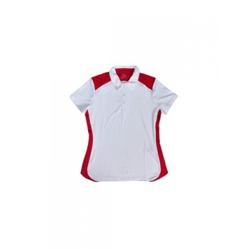 ROPA DE PADEL WILSON POLO SS WHITE RED JR - Barata Oferta Outlet