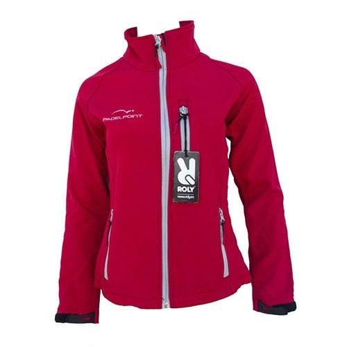 Palette de vêtements de la femme Softshell rouge - Barata Oferta Outlet