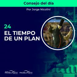 24. EL TIEMPO DE UN PLAN