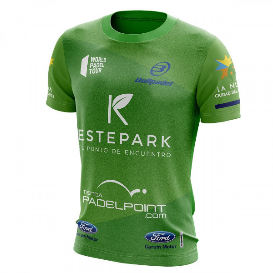 Camiseta Bullpadel Tello WPT Tatsu Verde 2019 - Barata Oferta Outlet