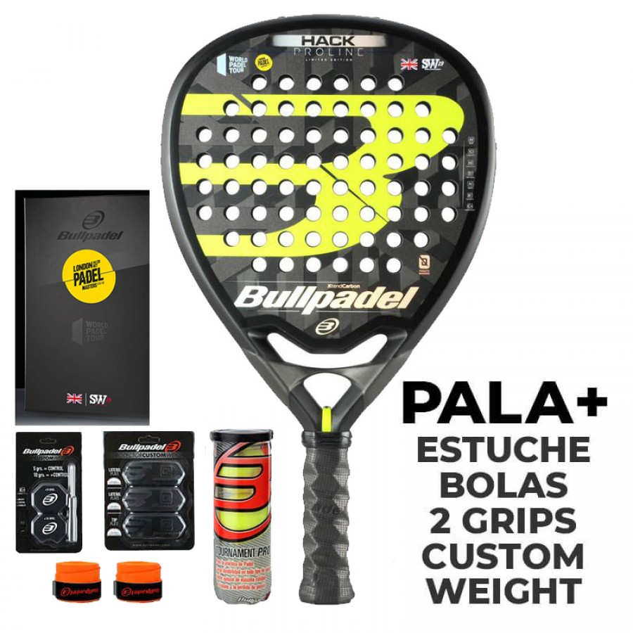 Pala Bullpadel Paquito Navarro Hack LPM Limited Edition