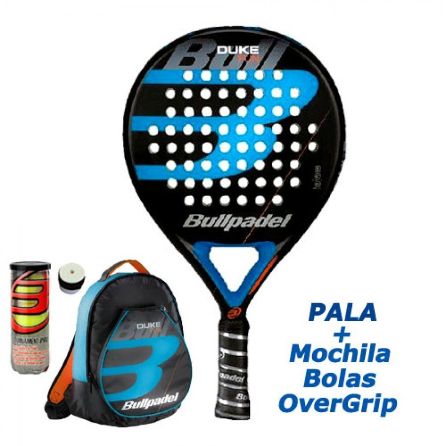 Pack Bullpadel Duke 2019 - Barata Oferta Outlet