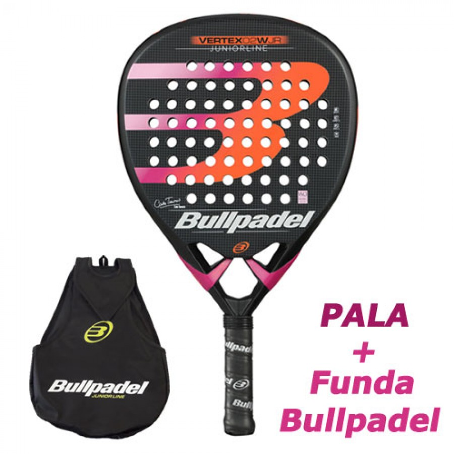 Pala Bullpadel Vertex 2 Cata Tenorio Junior 2019 - Barata Oferta Outlet