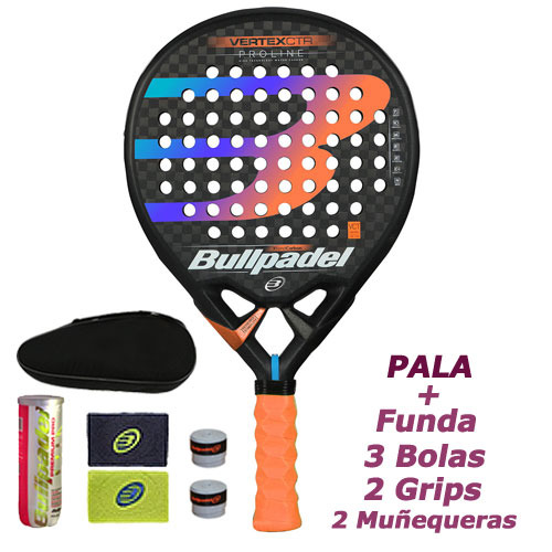 Pala Vertex Control 2019 Proline Bullpadel - Barata Oferta Outlet