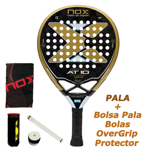 Pala Nox At10 Luxury Gold L.5 Agustin Tapia - Barata Oferta Outlet