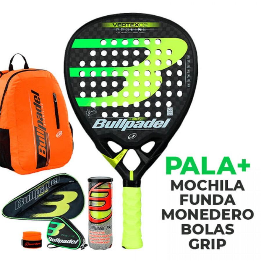 Pack Bullpadel Vertex 2 Proline 2019 - Barata Oferta Outlet