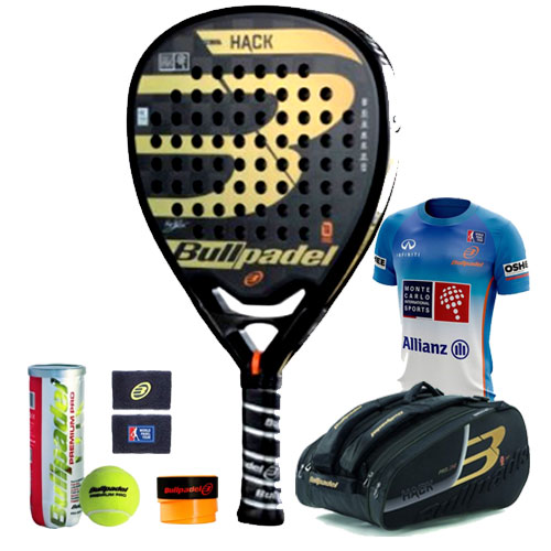 Pack Padel Hack Pro 2018 Paquito Navarro - Barata Oferta Outlet