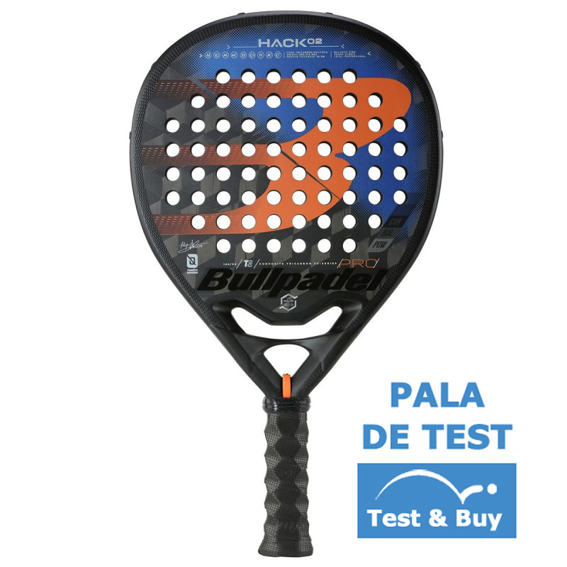 sistemático Culpa Iluminar  OFFER - Test Shovel Bullpadel Paquito Navarro Hack 02 Pro 2021 + Cheap
