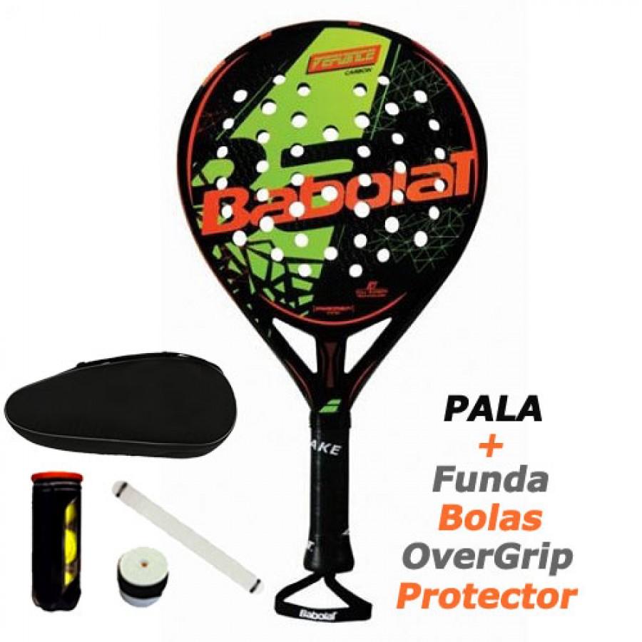 PALA DE PADEL BABOLAT Defiance Carbon 18 - Barata Oferta Outlet
