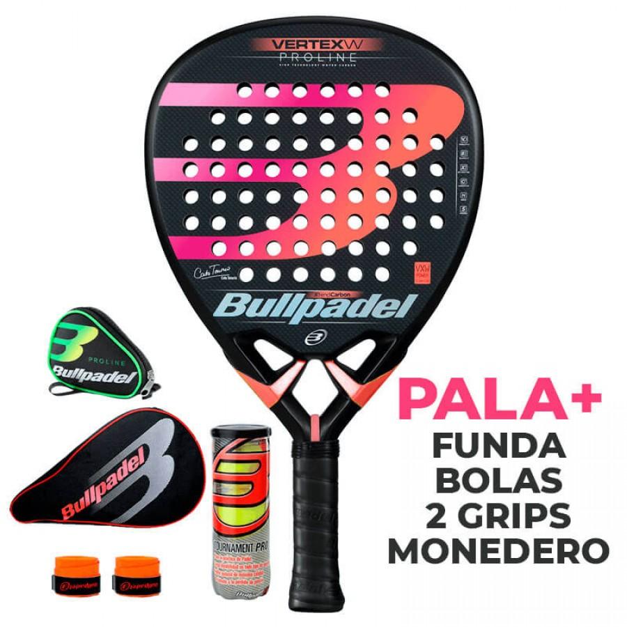 Pala Bullpadel Cata Tenorio Vertex Woman Proline 2019 - Barata Oferta Outlet