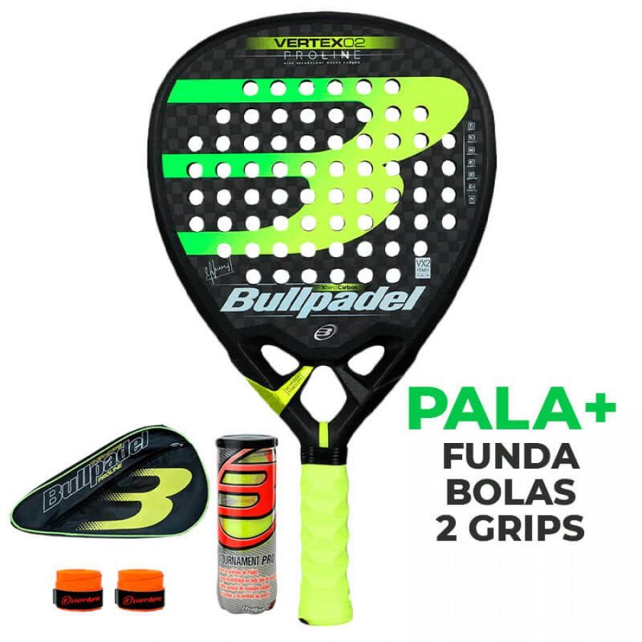 Pala Bullpadel Maxi Sanchez Vertex 2 Proline 2019 - Barata Oferta Outlet