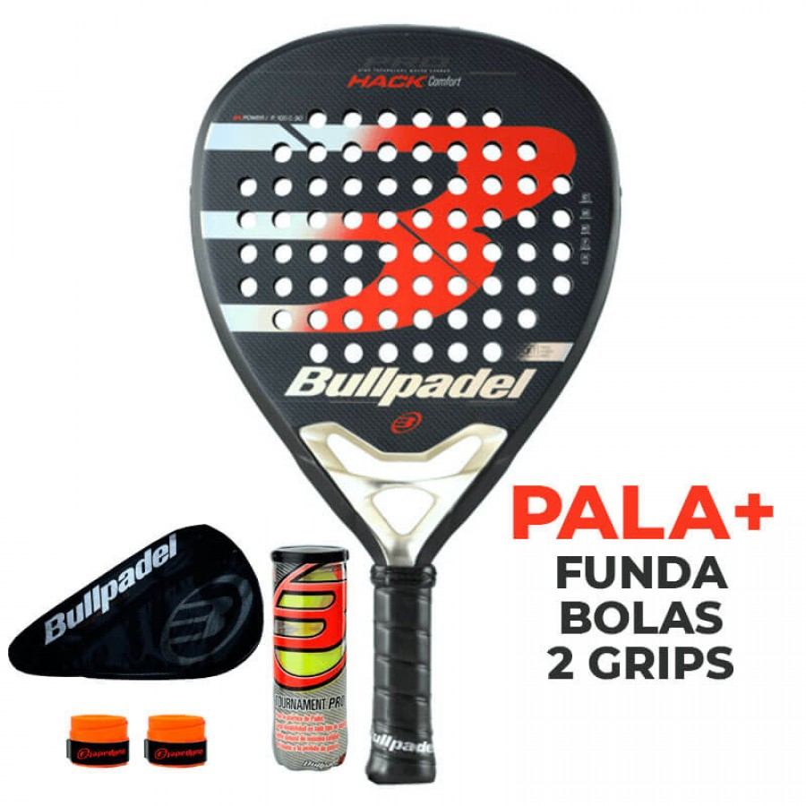 Pala Bullpadel Hack Comfort Proline 2020 - Barata Oferta Outlet