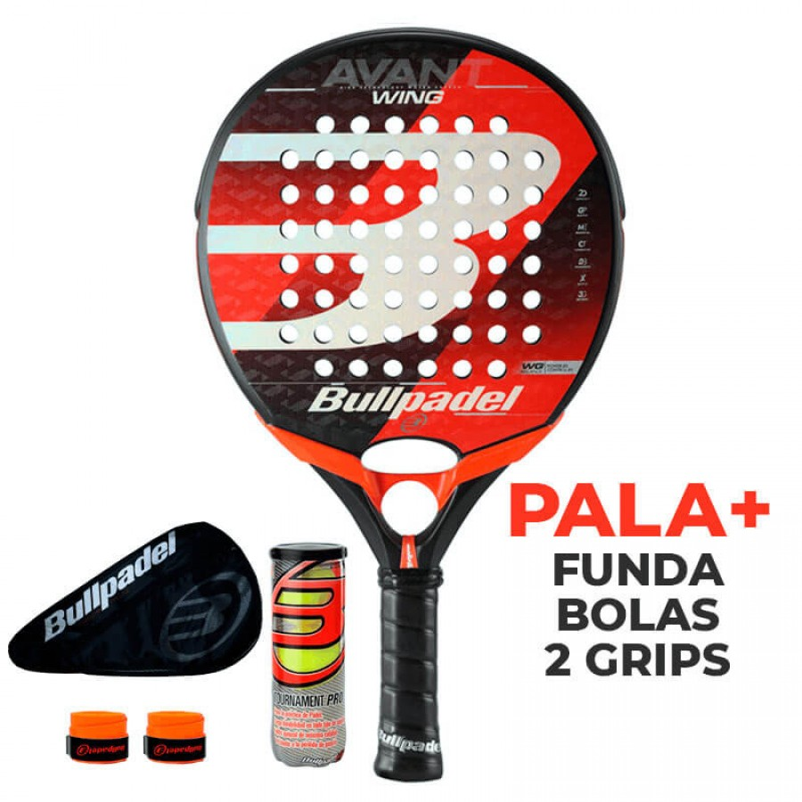 Pala Bullpadel Wing Avantline 2020 - Barata Oferta Outlet