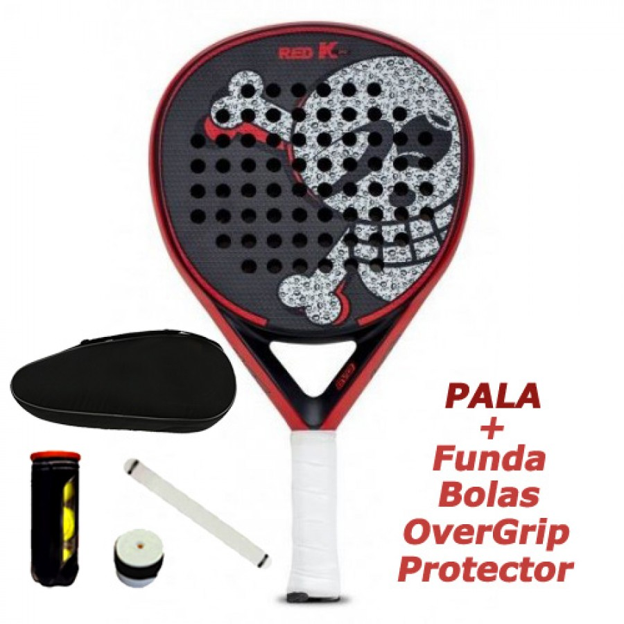 Pala Just Ten Red K Evo - Barata Oferta Outlet