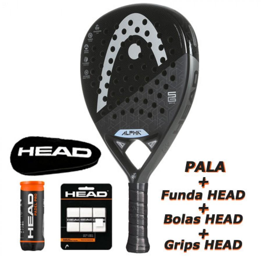 Pala Head Sanyo Gutierrez Graphene 360 Alpha Pro 2020 - Barata Oferta Outlet