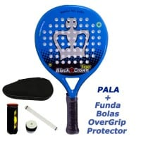 Pala de Padel BLACK CROWN TIGER - Barata Oferta Outlet