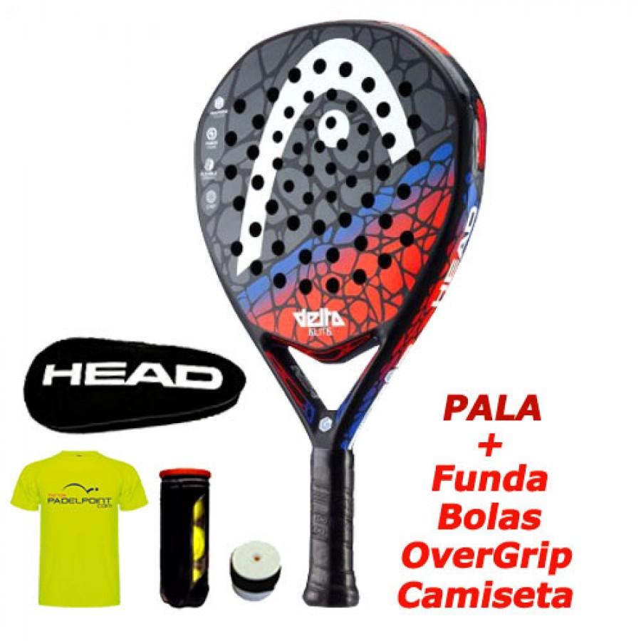 Pala de Padel HEAD Delta Elite 18 - Barata Oferta Outlet