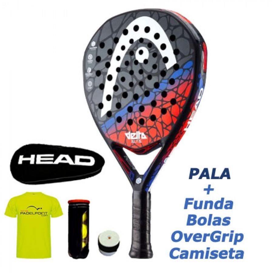 Pala de Padel HEAD Graphene Touch Delta Pro 18 - Barata Oferta Outlet