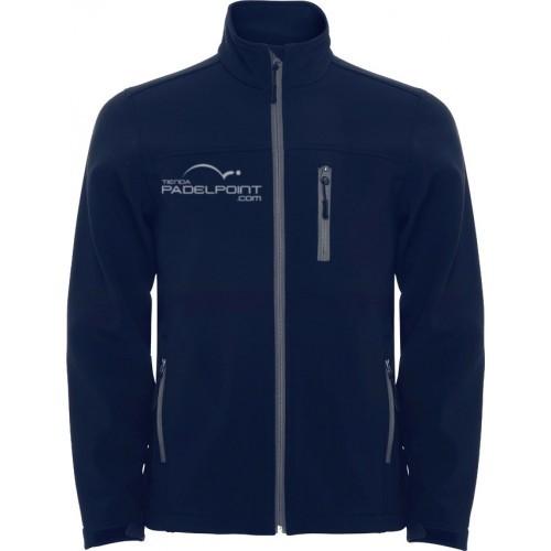Paddle Softshell hommes vêtements bleu marine Padelpoint - Barata Oferta Outlet