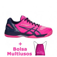 Zapatillas Asics Gel Padel Exclusive 5 SG Pink Glo Peacoat 4f54f1113f2