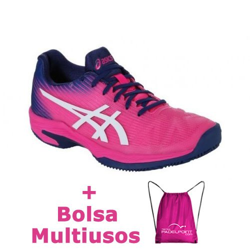 -35% Shoes Asics Solution Speed FF Clay Pink Glo White - Barata Oferta  Outlet f34a0b2b6b652