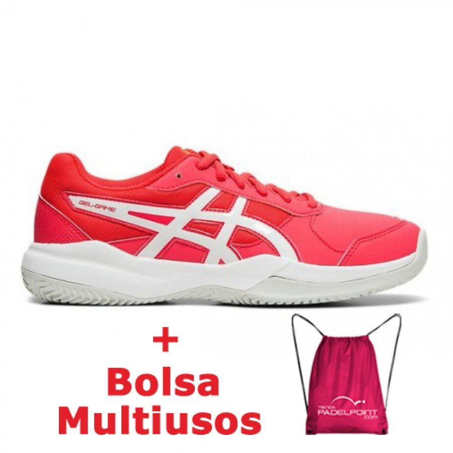 Zapatillas Asics Gel Game 7 Rosa Junior - Barata Oferta Outlet