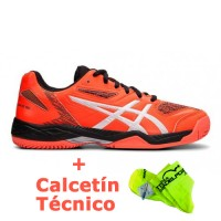 Zapatillas Asics Gel Padel Exclusive 5 Coral - Barata Oferta Outlet