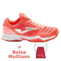 Zapatillas Joma T.Set Lady 807 Coral Clay - Barata Oferta Outlet