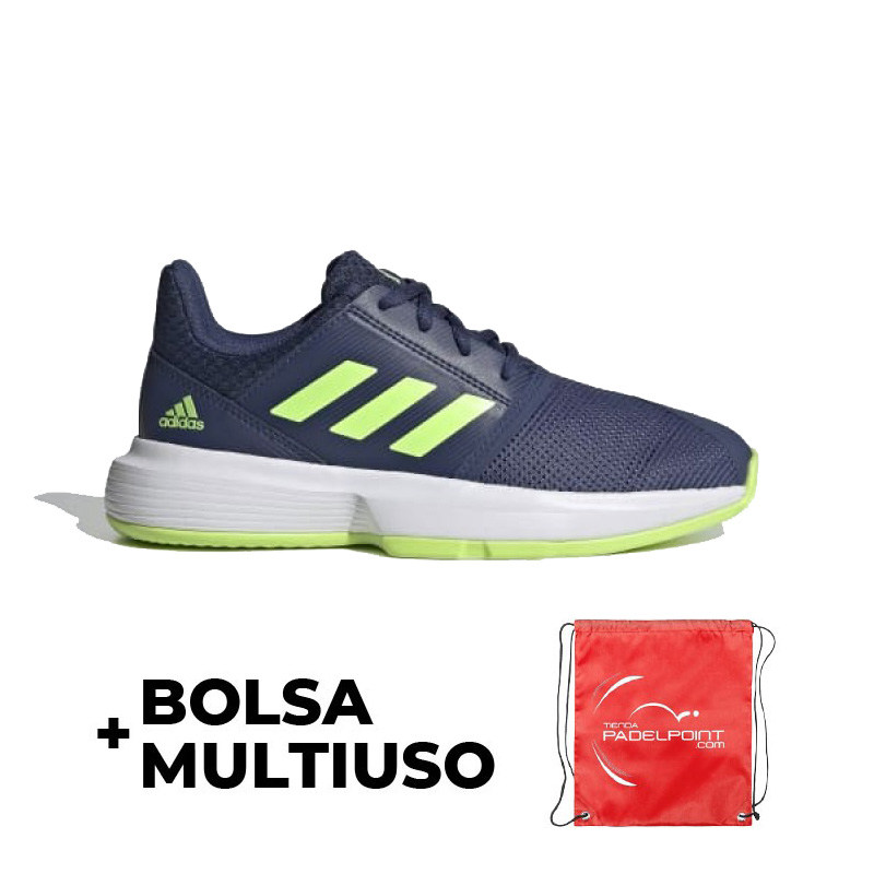 Paisaje Hermano As  OFFER - Adidas Court Jam Marino Green Junior Sneakers + Cheap
