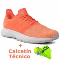 Zapatillas Adidas Game Court Coral - Barata Oferta Outlet