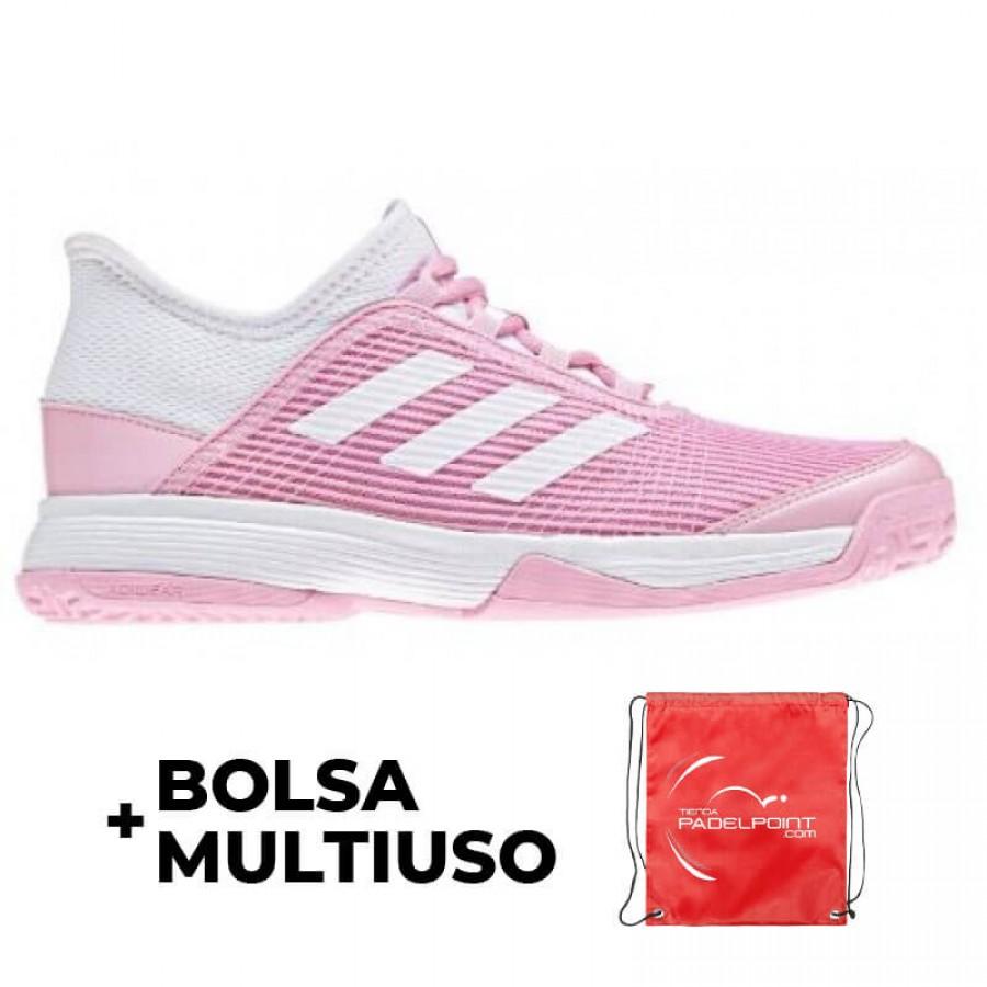 Zapatillas Adidas Adizero Club K Rosa Blanco - Barata Oferta Outlet