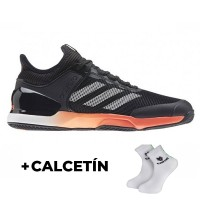 Adidas Adizero Ubersonic Black Sneakers