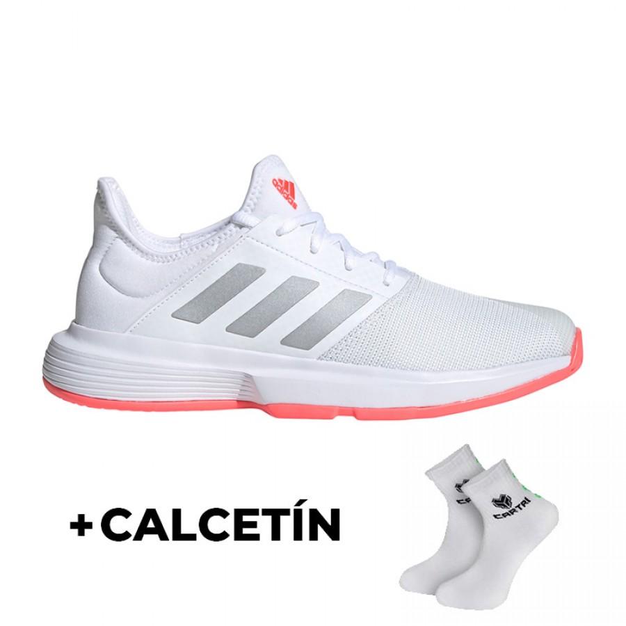 Zapatillas Adidas Game Court Blanco Mujer