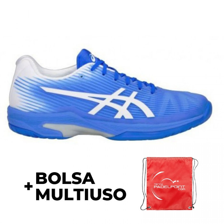 Zapatillas Asics Solution Speed Ff Clay Azul Blanco - Barata Oferta Outlet