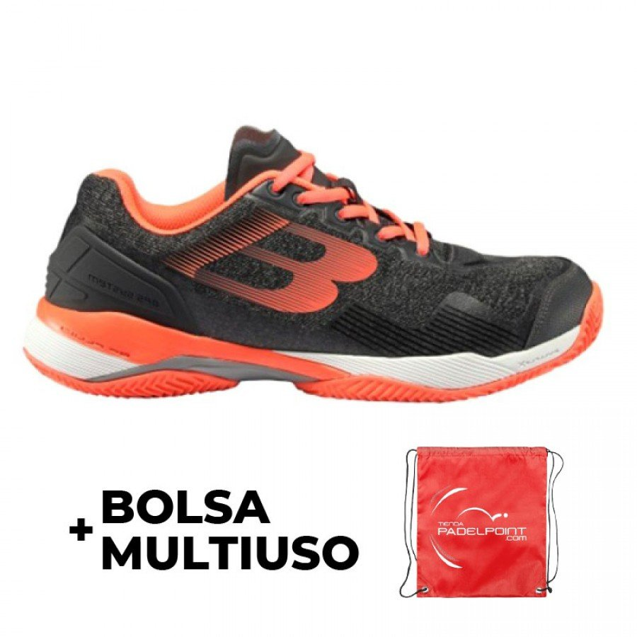 Zapatillas Bullpadel Paquito Navarro Hack Knit Gris Oscuro 2019 - Barata Oferta Outlet