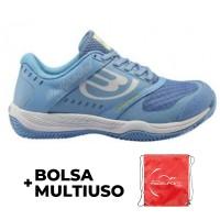 Zapatillas Padel Bullpadel Betax W Azul Celeste - Barata Oferta Outlet