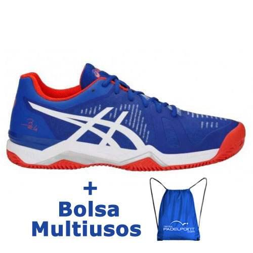 Zapatillas Asics Gel Bela 6 Sg Azul Blanco - Barata Oferta Outlet