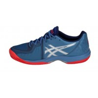 Asics Gel Court Speed Clay Azure Blue Print - Barata Oferta Outlet