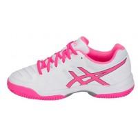 Asics Gel Padel Pro 3 SG White Hot Pink - Barata Oferta Outlet