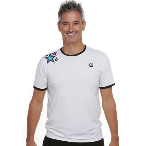 Camiseta a40Grados Cass Lh Blanca Star - Barata Oferta Outlet